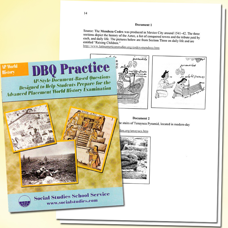 DBQ Practice: World History Book