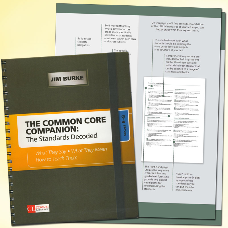 Common Core Companion: The Standards Decoded ~ Grade 6-8