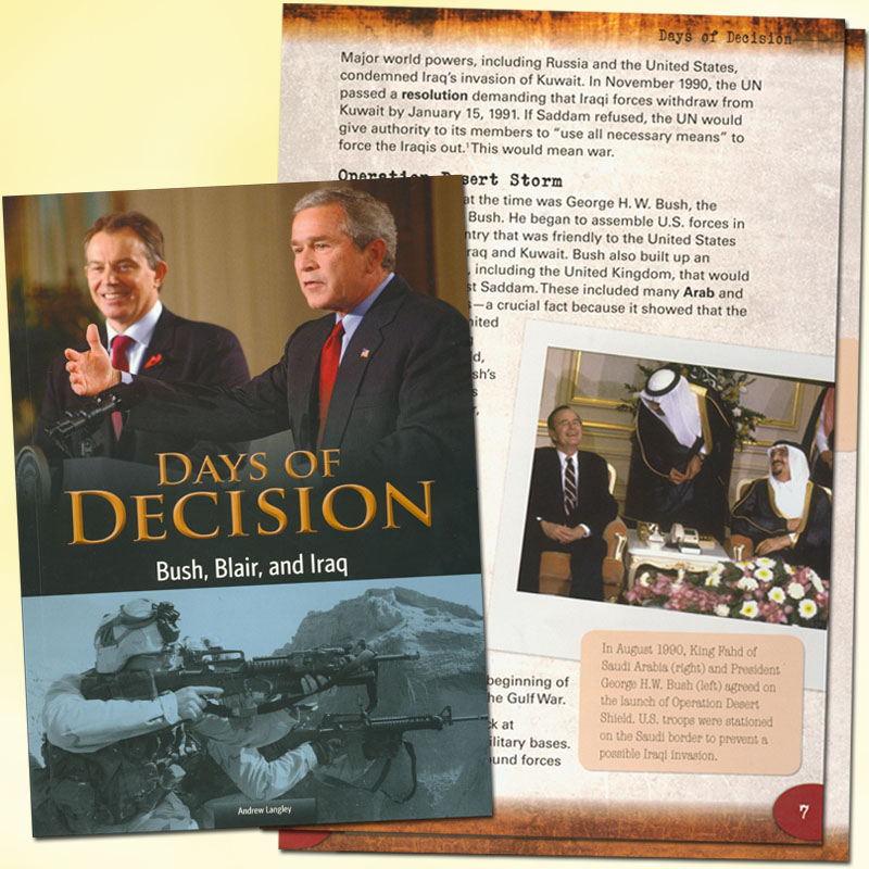 Days of Decision: Bush, Blair and Iraq Book