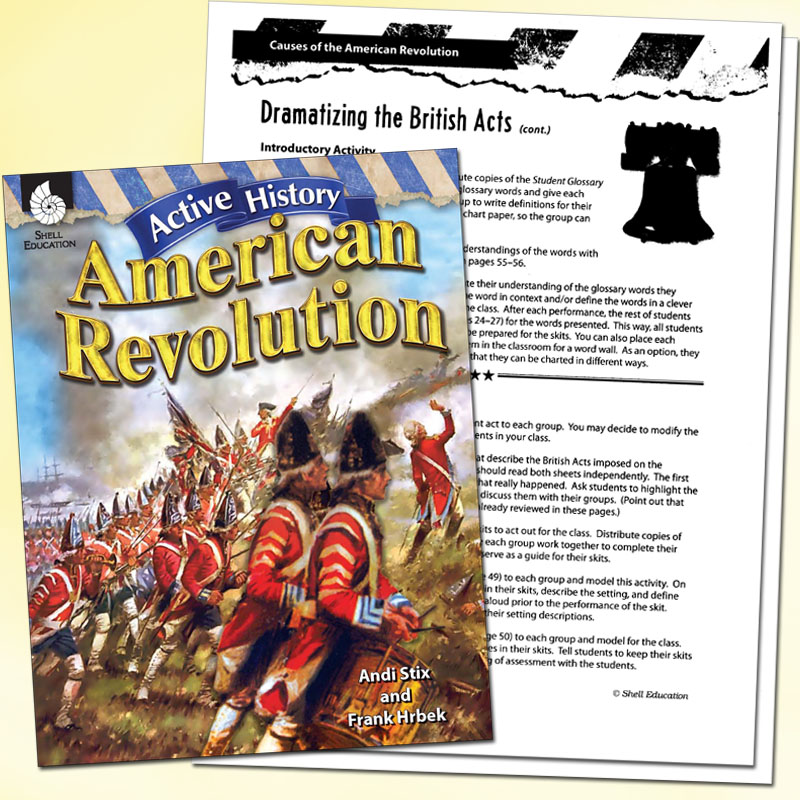 Active History: American Revolution Simulations Book