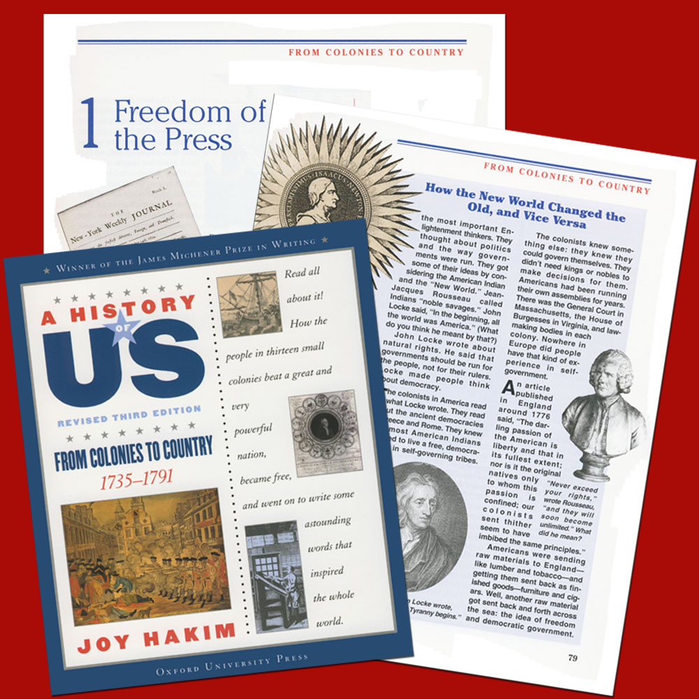A History of US: From Colonies to Country, 1735-1791