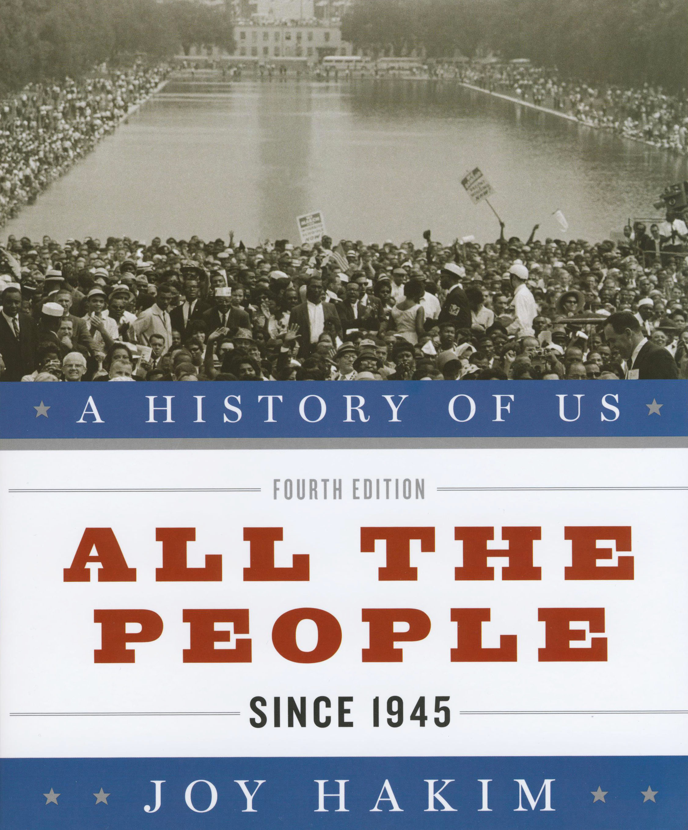 A History of US: All the People Since 1945 Book