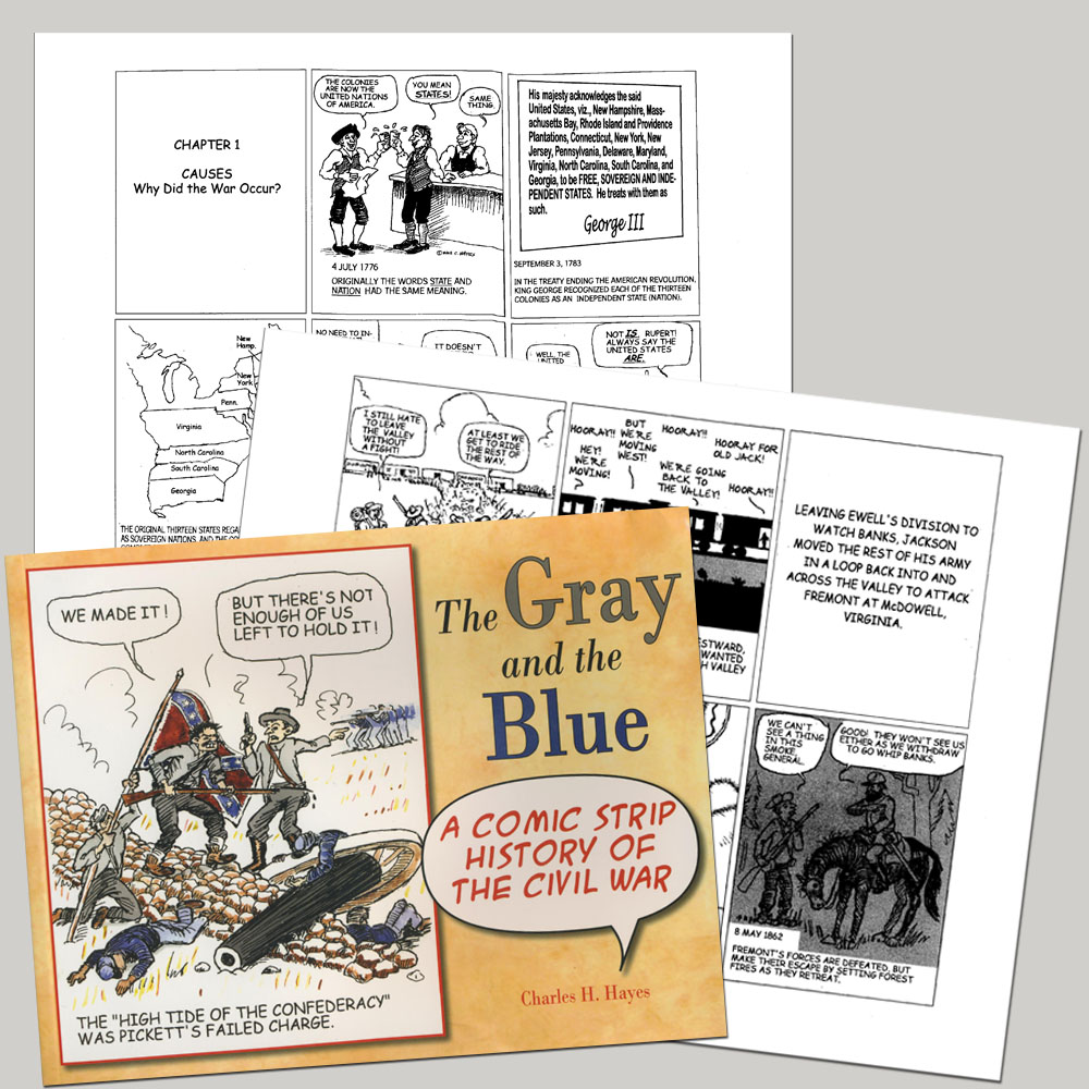 The Gray and the Blue Book
