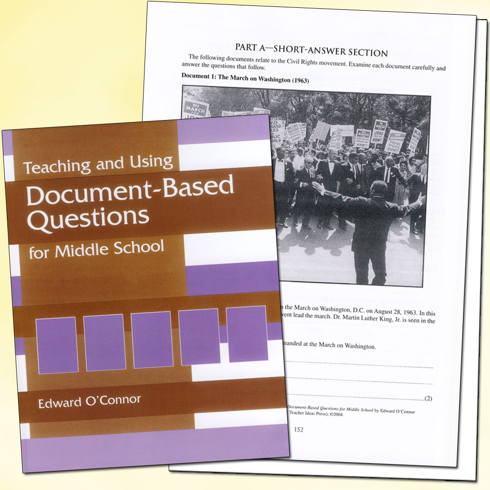 Teaching and Using Document Based Questions Book