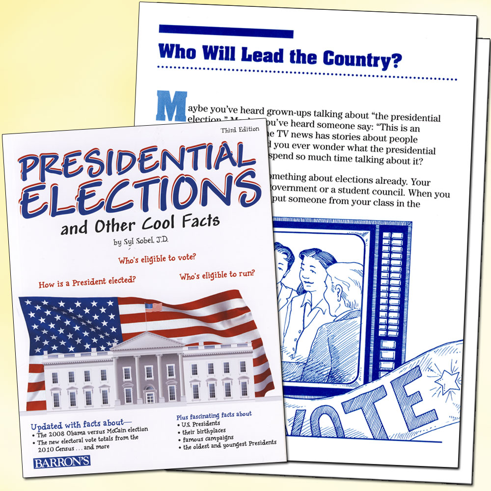 Presidential Elections and Other Cool Facts Book