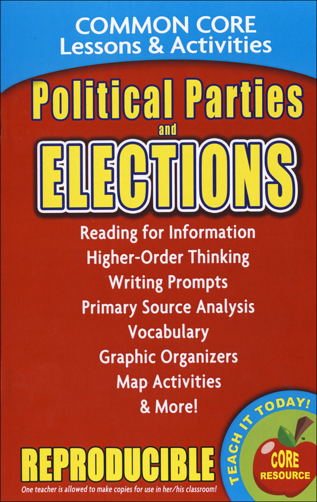 Political Parties & Elections Book