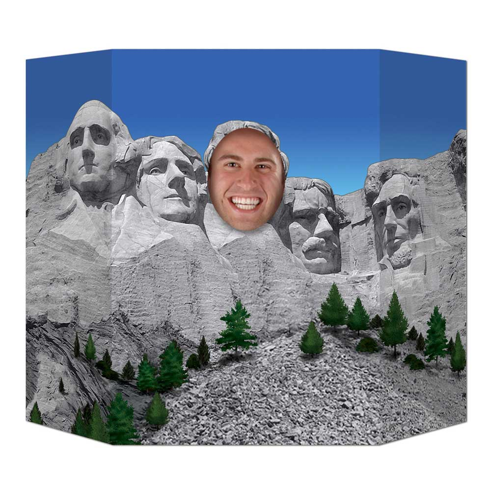 Presidential Mountain Photo Prop