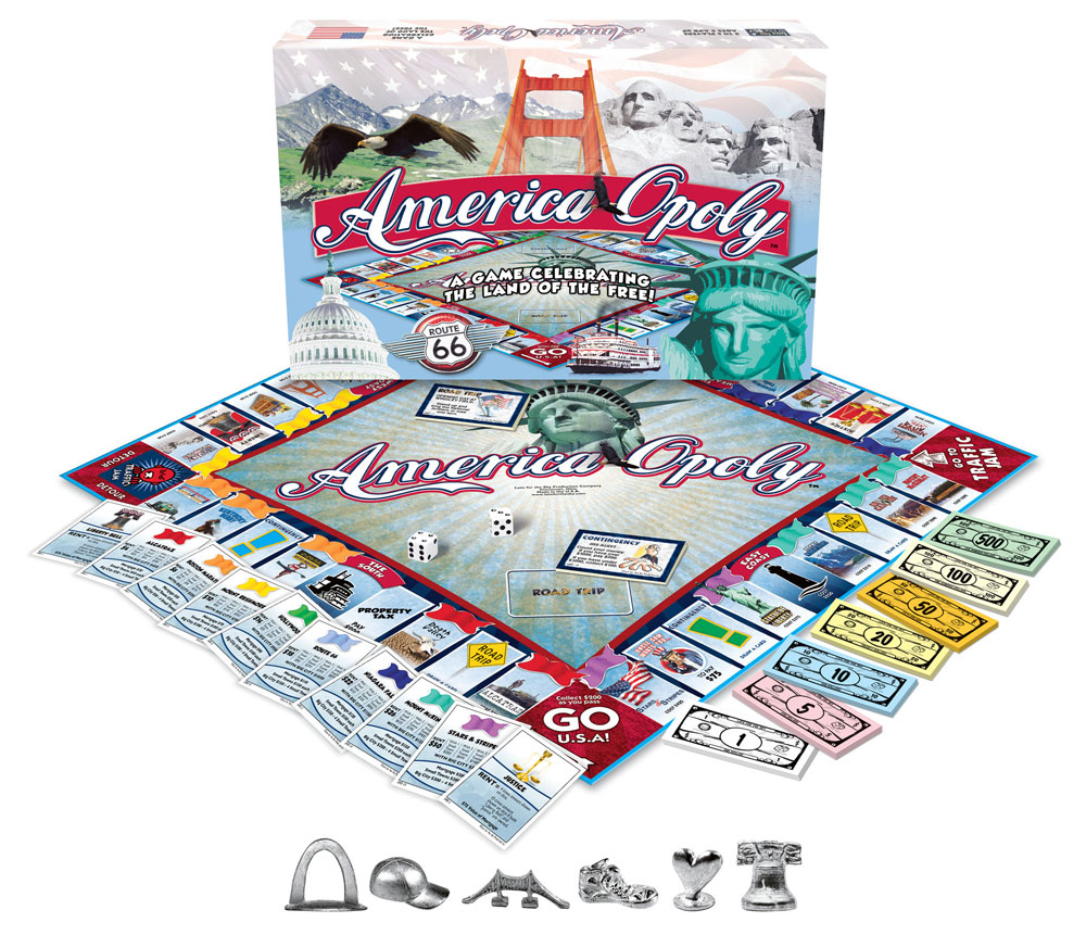 America-Opoly Game