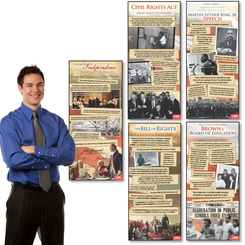 Documents in American History ~ Set of 5 Posters