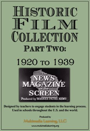Historic Film Collection Part 2: Pre 1920-1939