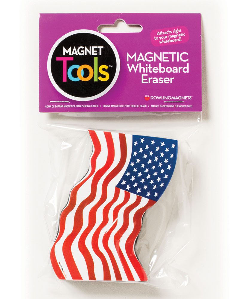 Flag Magnetic Whiteboard Eraser