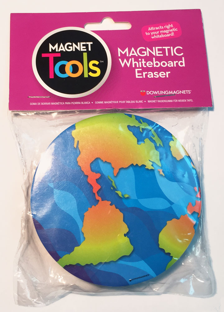 Earth Magnetic Whiteboard Eraser