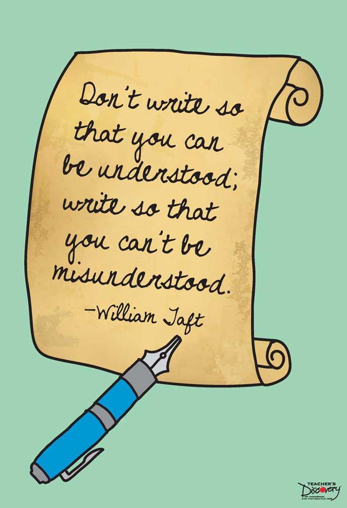 Why Write? Mini-Poster