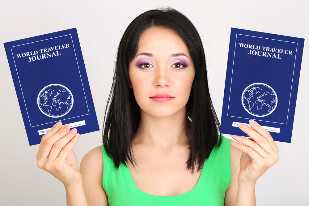 World Traveler Journal ~ Set of 30