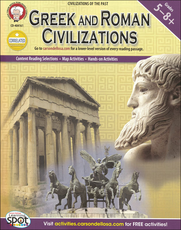 Greek And Roman Civilizations Activity Book