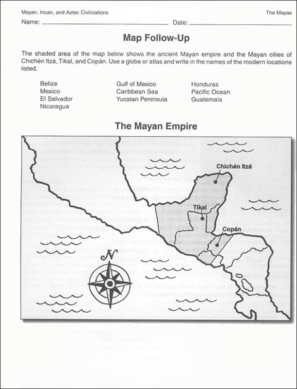 the maya aztec and incan social
