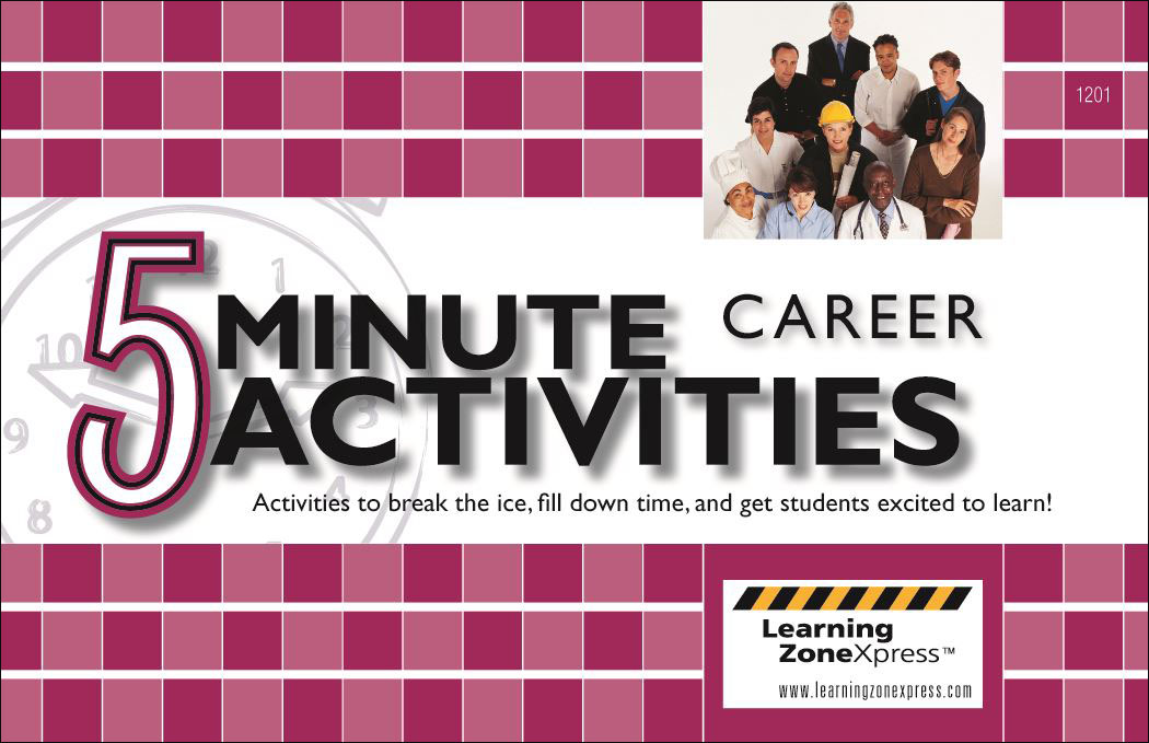 5 Minute Career Activities ~ DOWNLOAD