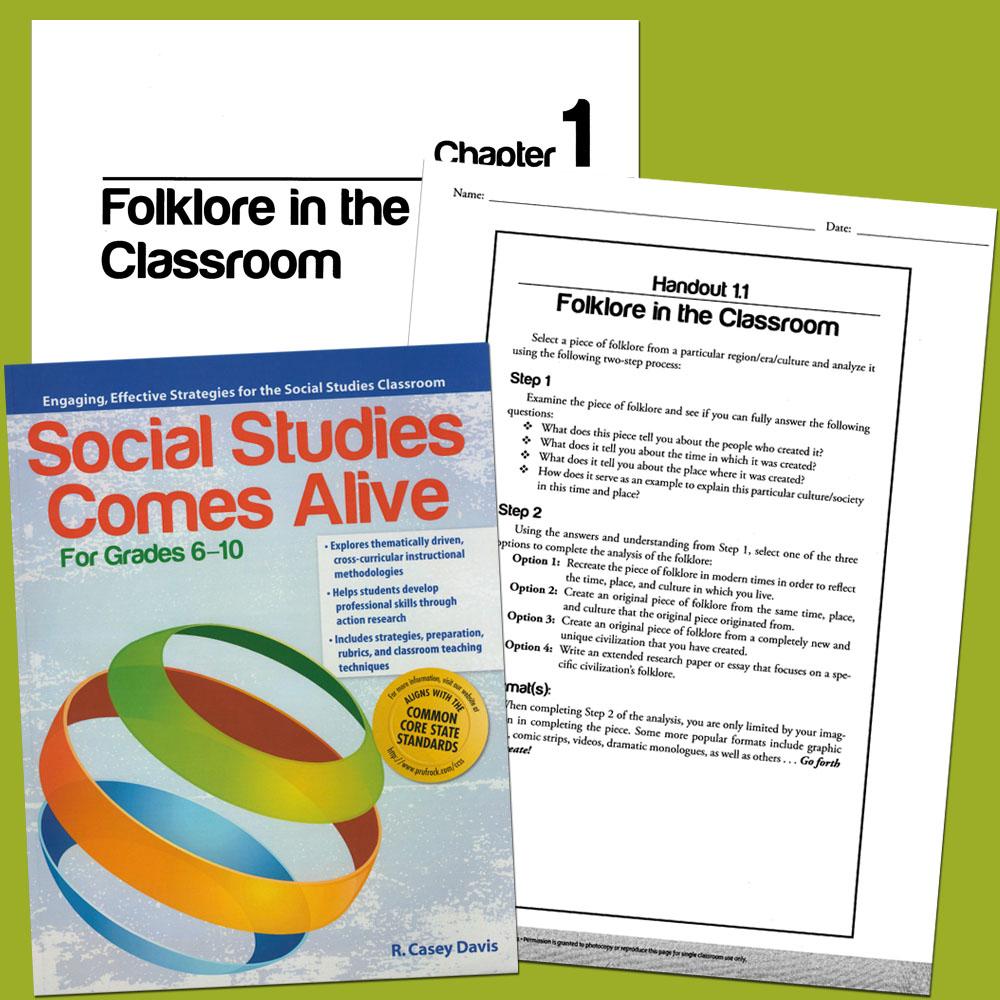 Social Studies Comes Alive Activity Book