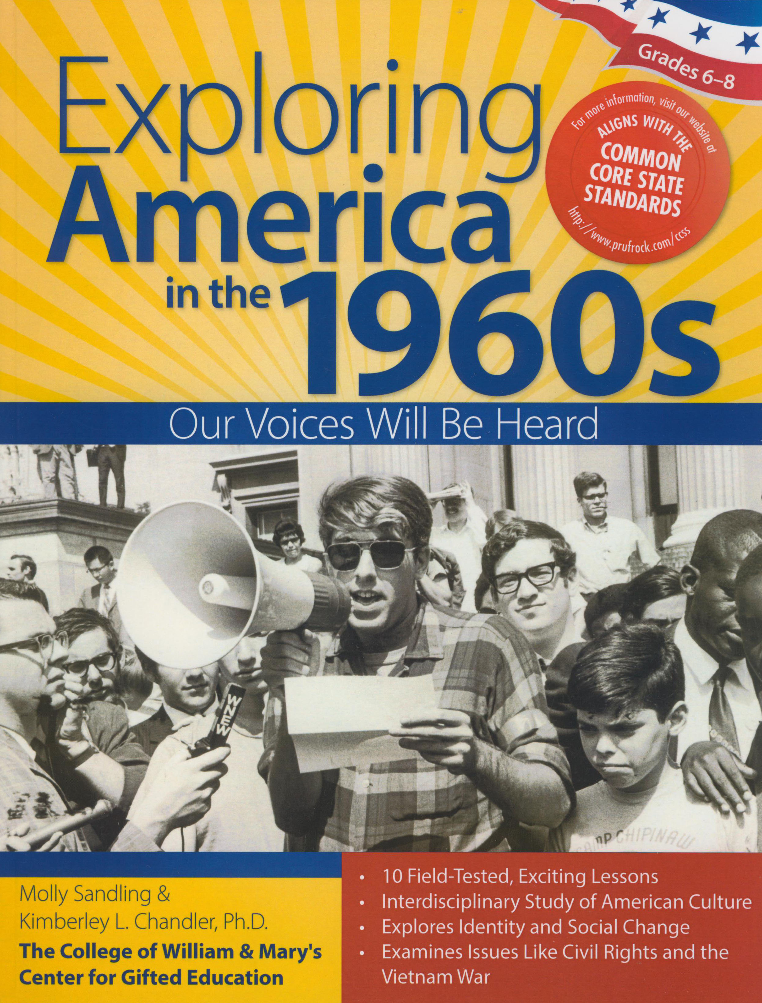 Exploring America in The 1960s Activity Book