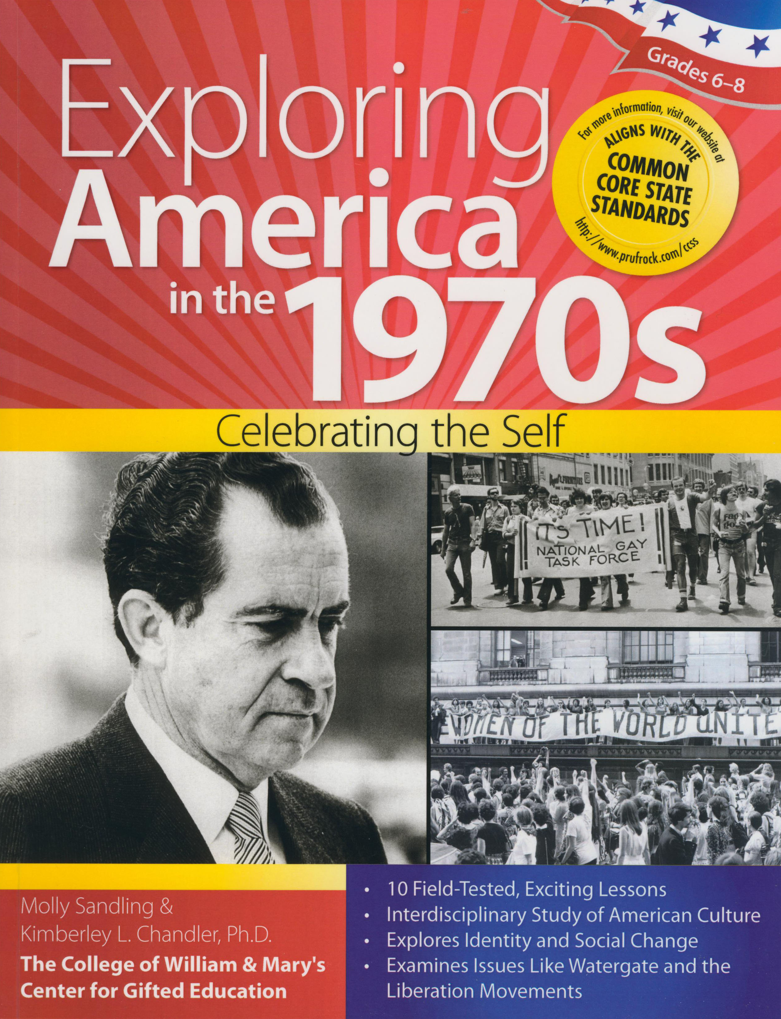 Exploring America in The 1970s Activity Book