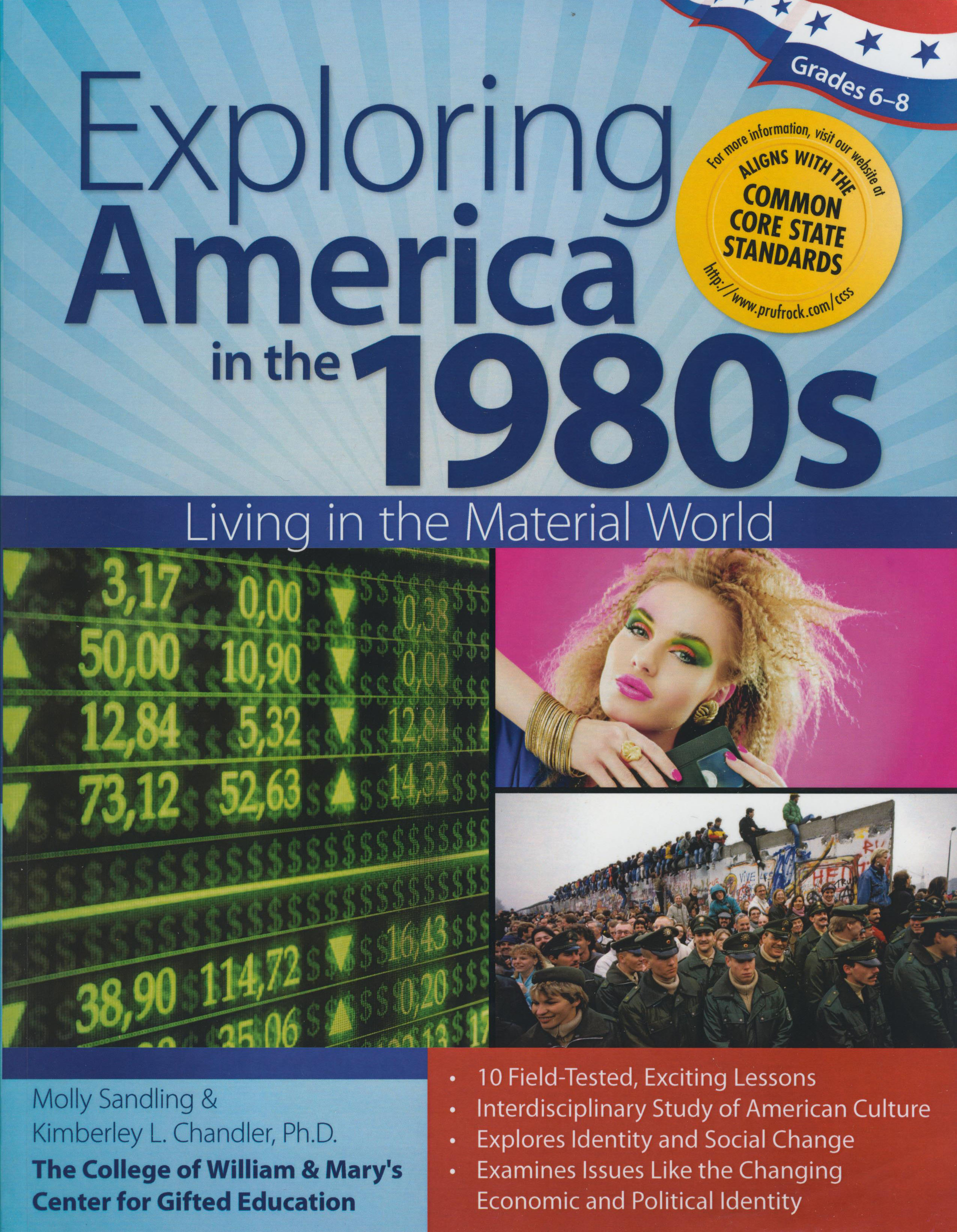 Exploring America in The 1980s Activity Book