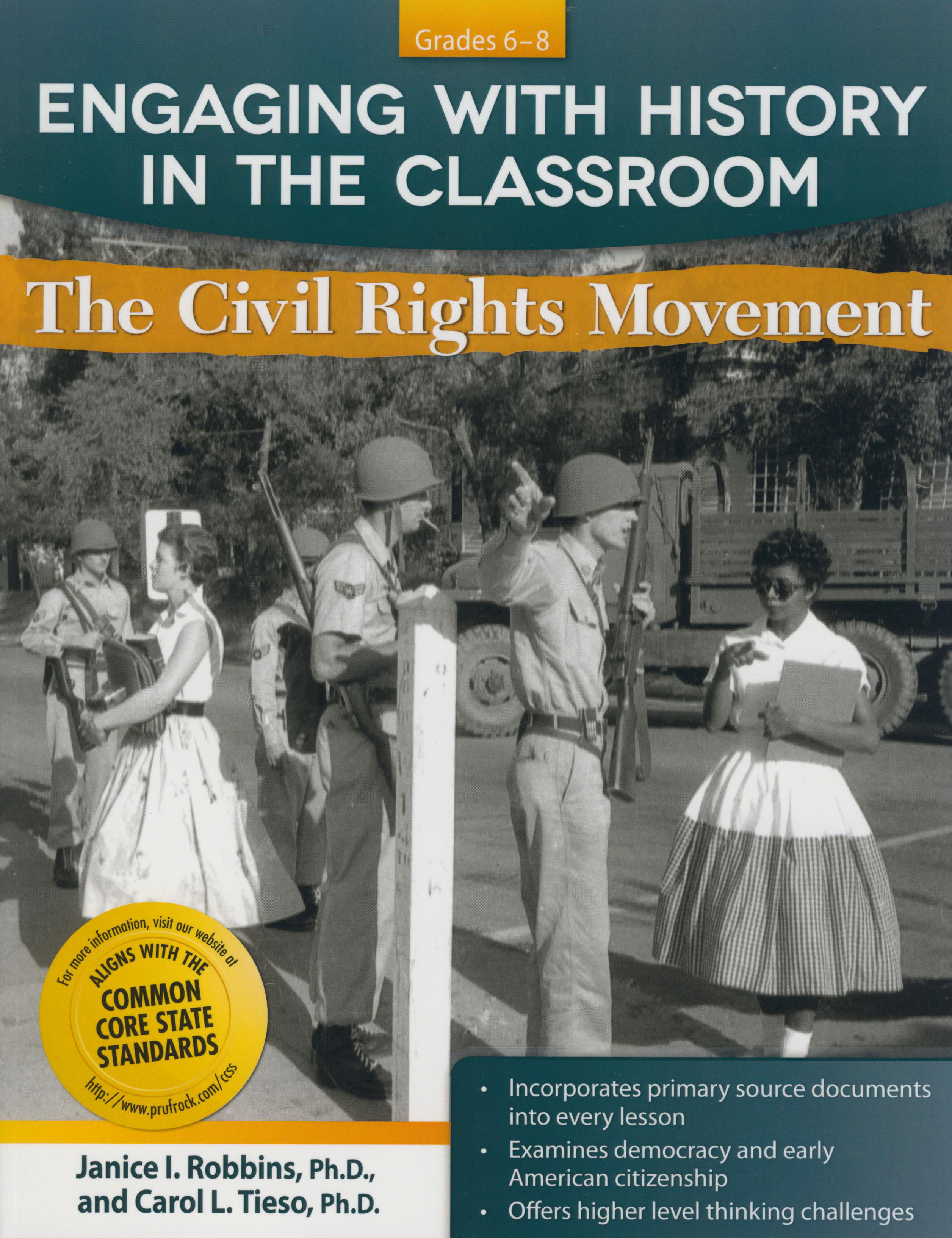 Engaging With History in Classroom - The Civil Rights Movement Activity Book