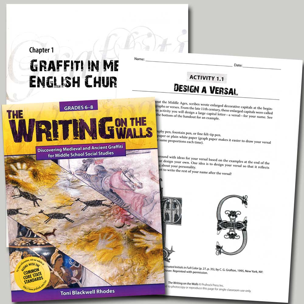 Writing on the Walls Activity Book