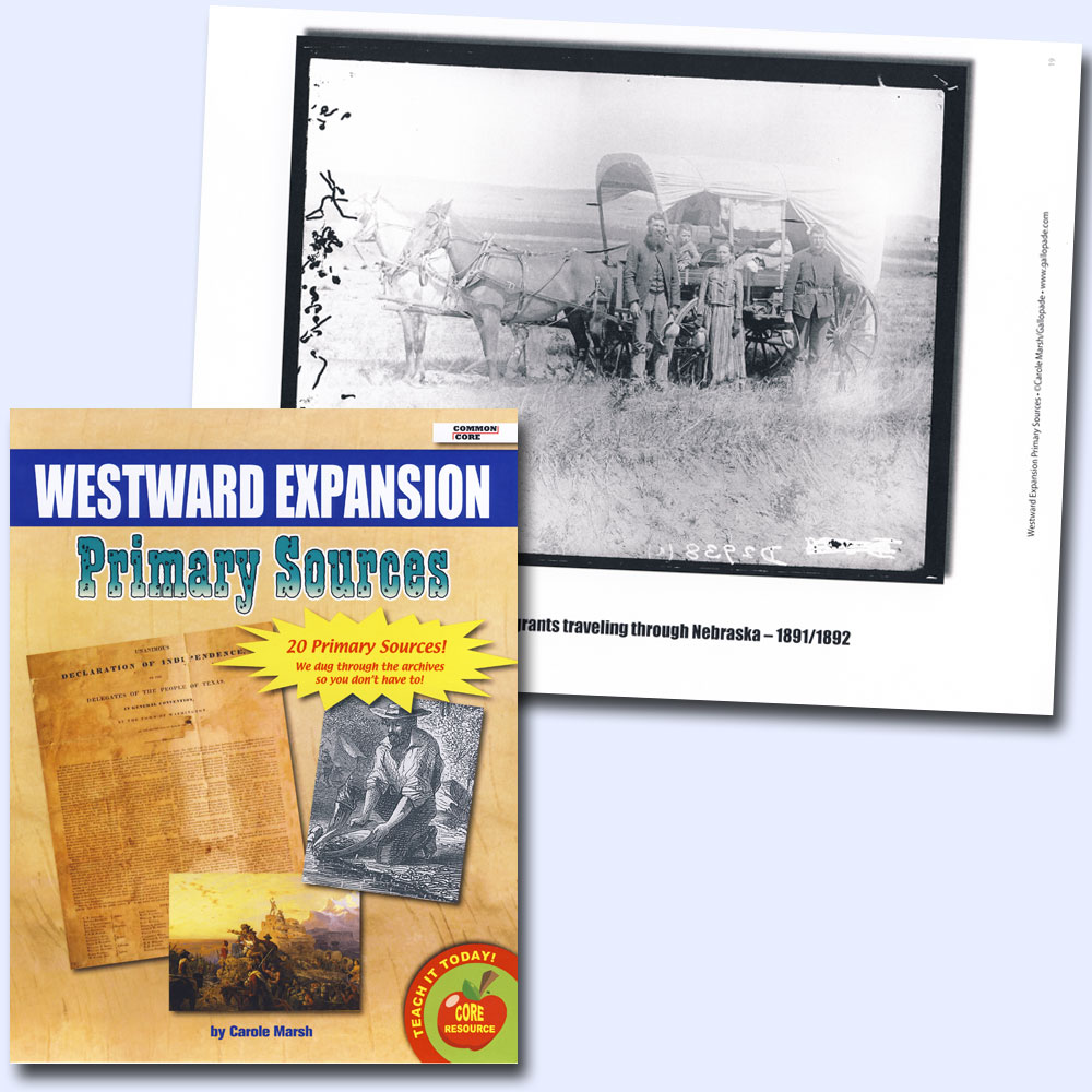 Westward Expansion Primary Source Document Set
