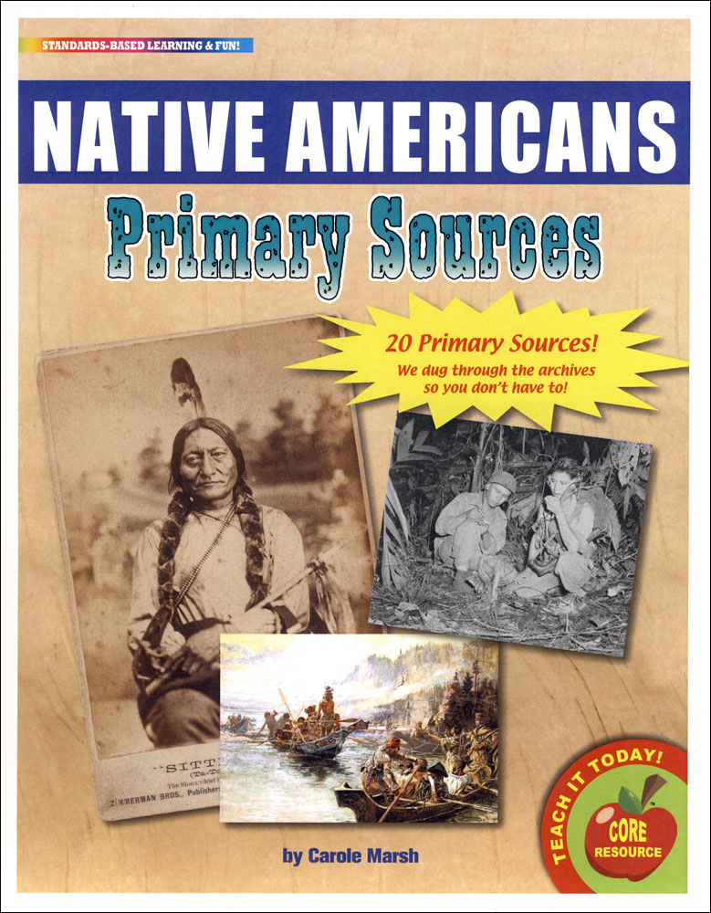 Native Americans Primary Source Document Set