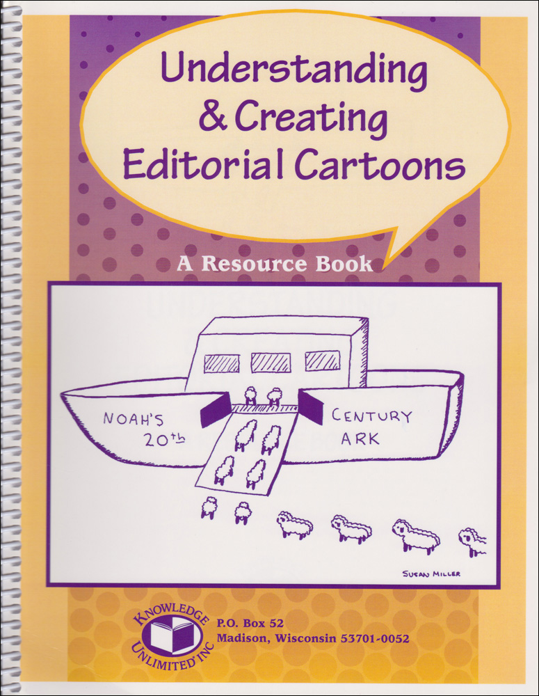 Understanding & Creating Editorial Cartoons Activity Book