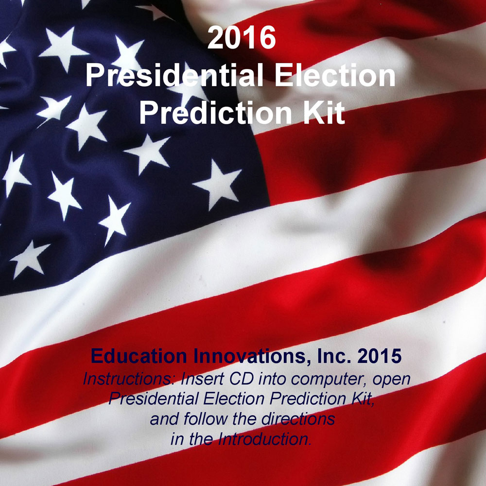 2016 Election Prediction Kit CD