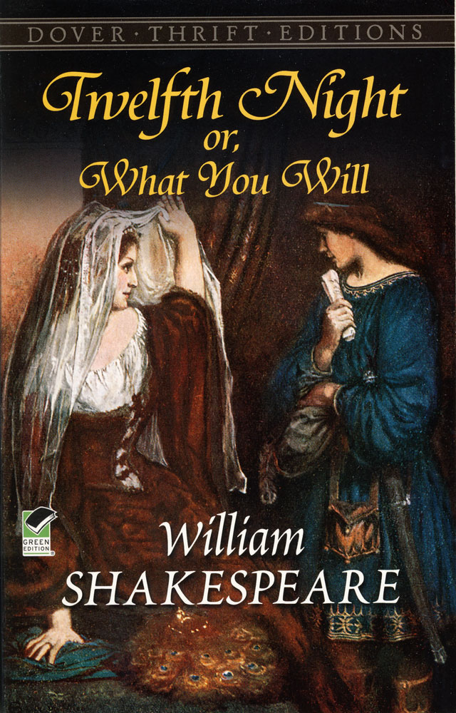 Twelfth Night Or, What You Will Paperback Book (NC1140L)