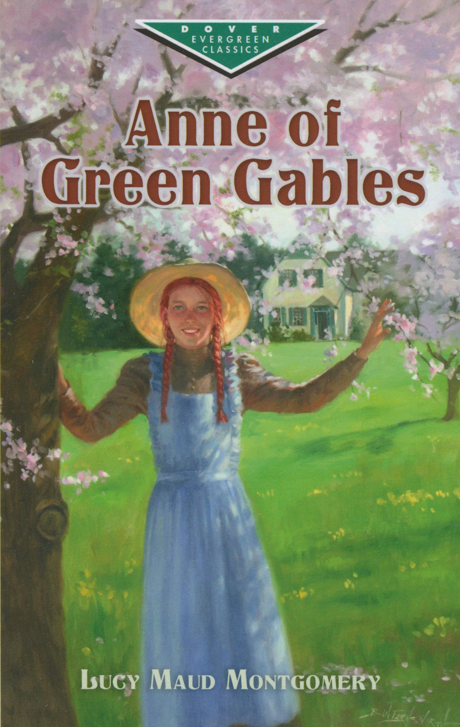 Anne of Green Gables Paperback Book (HL710L)