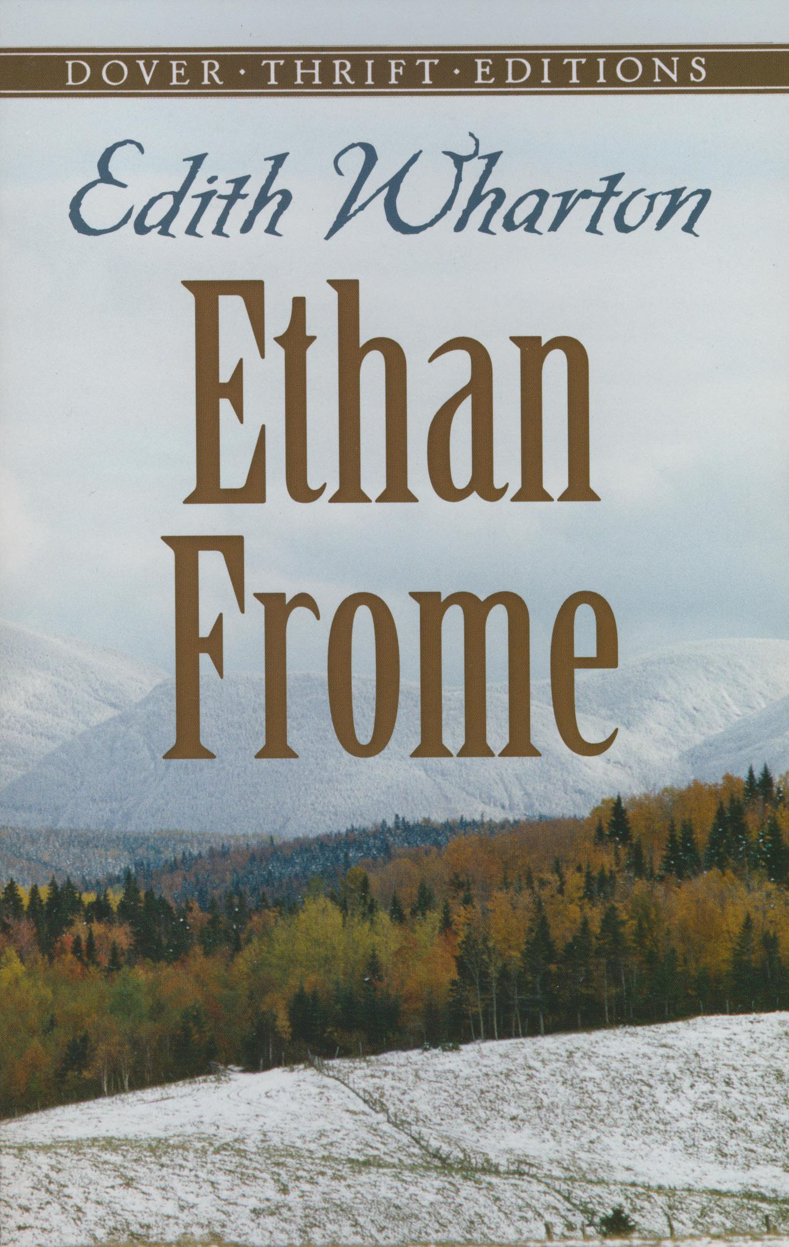 a focus on the character ethan frome in edith whartons novel ethan frome Critical responses to roman fever see also the current bibliography on short stories and the bibliography on roman fever the following summaries and quotations.