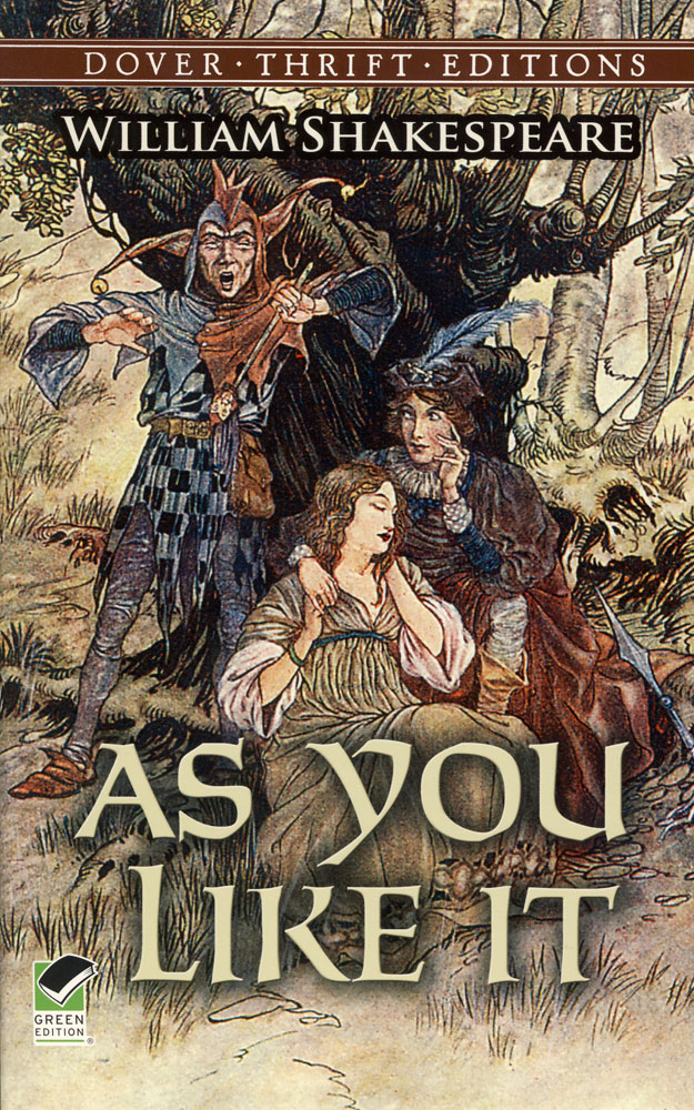As You Like It Paperback Book (NC1120L)