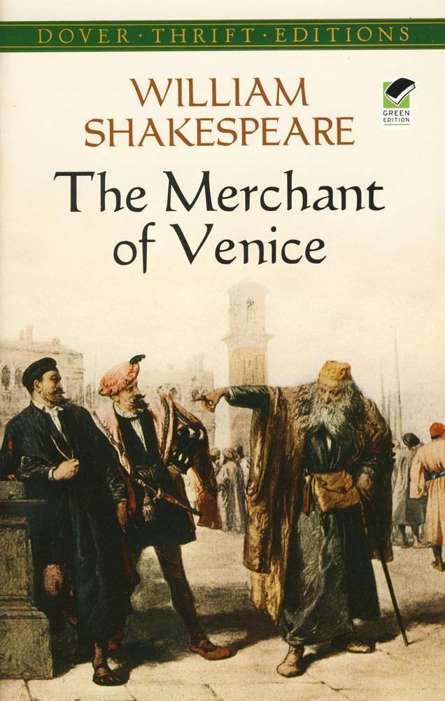 The Merchant of Venice Paperback Book (NC1050L)