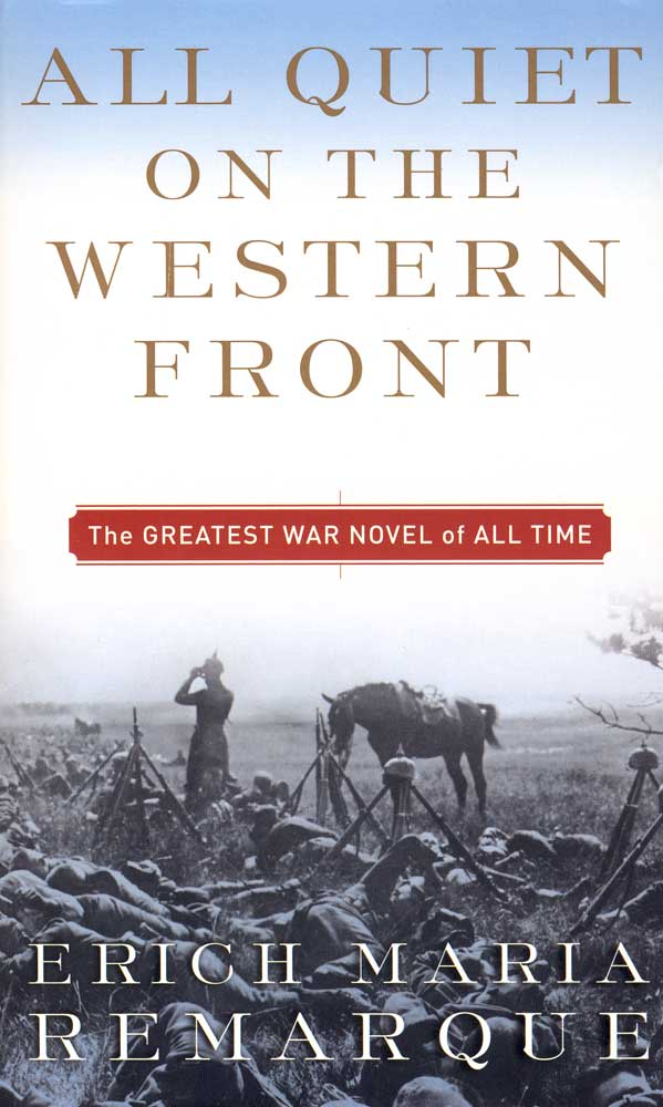 All Quiet on The Western Front Paperback Book (830L)