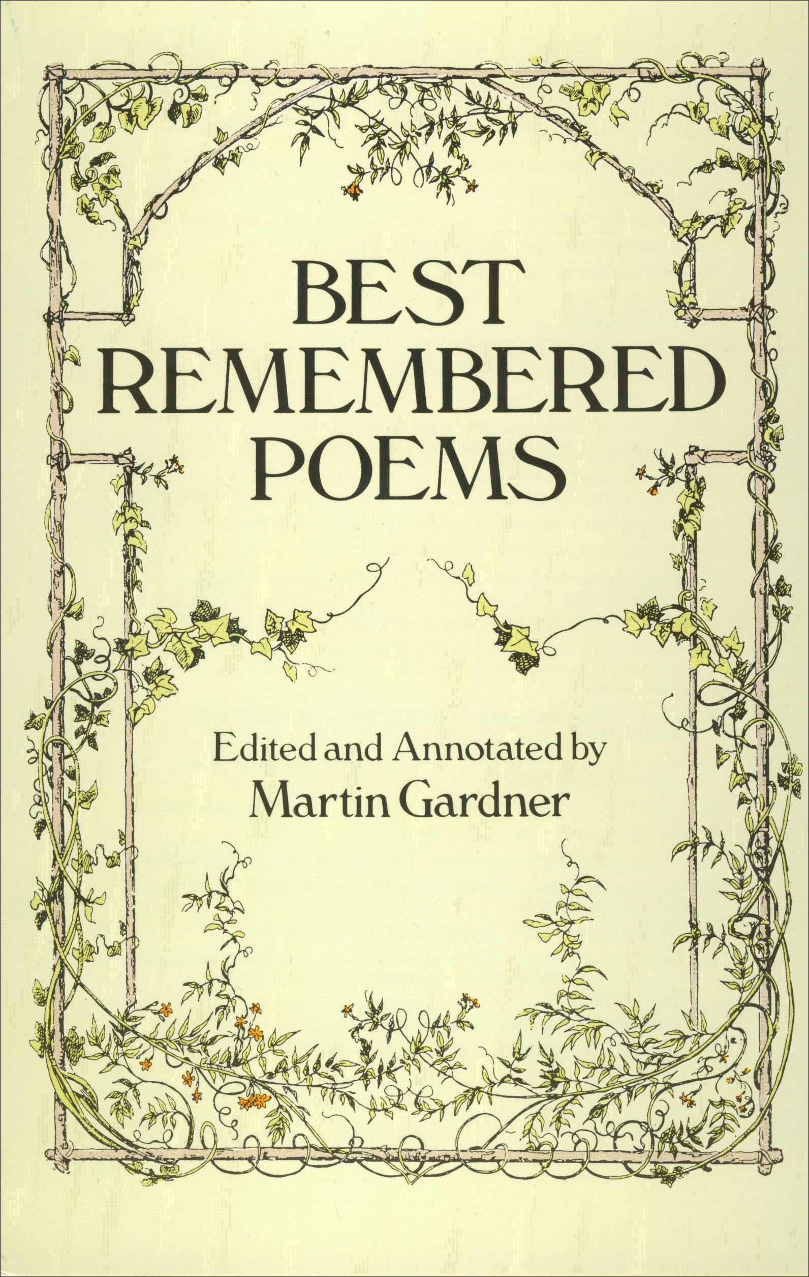 Best Remembered Poems Paperback Book (NP)