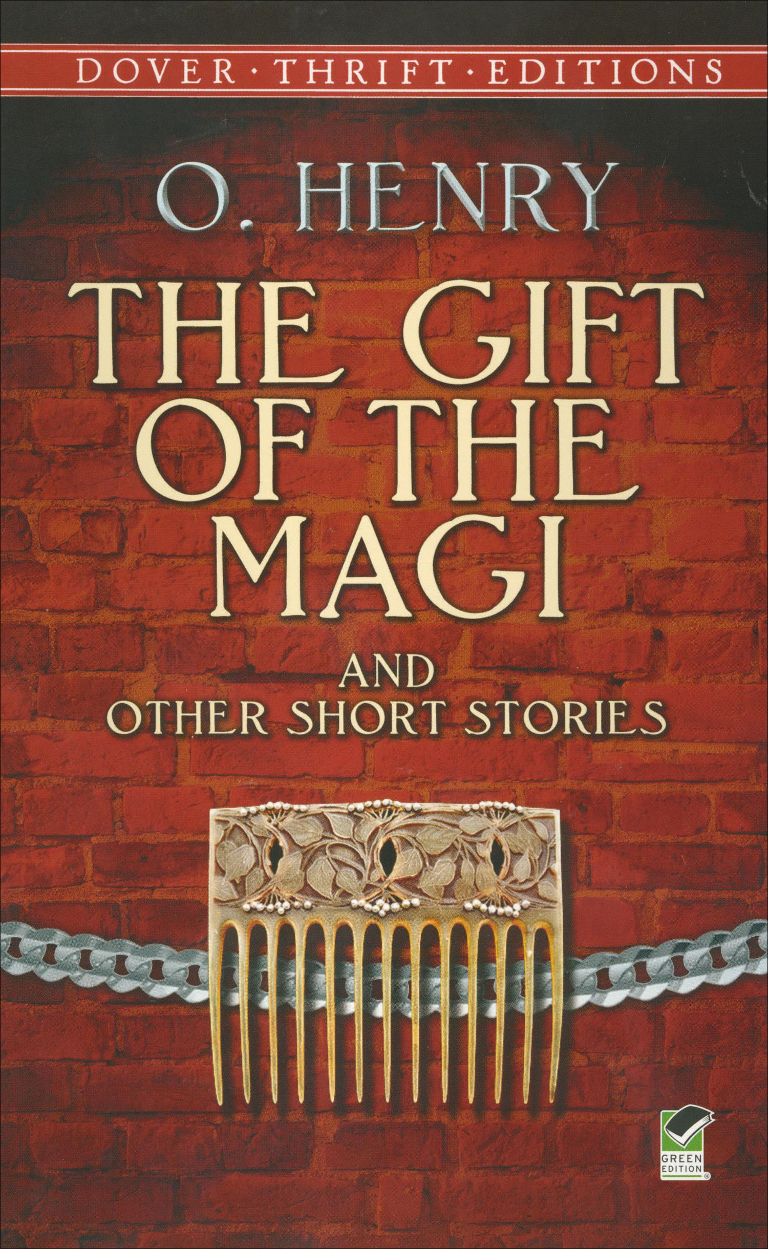 The Gift of the Magi and Other Short Stories Paperback Book (940L)