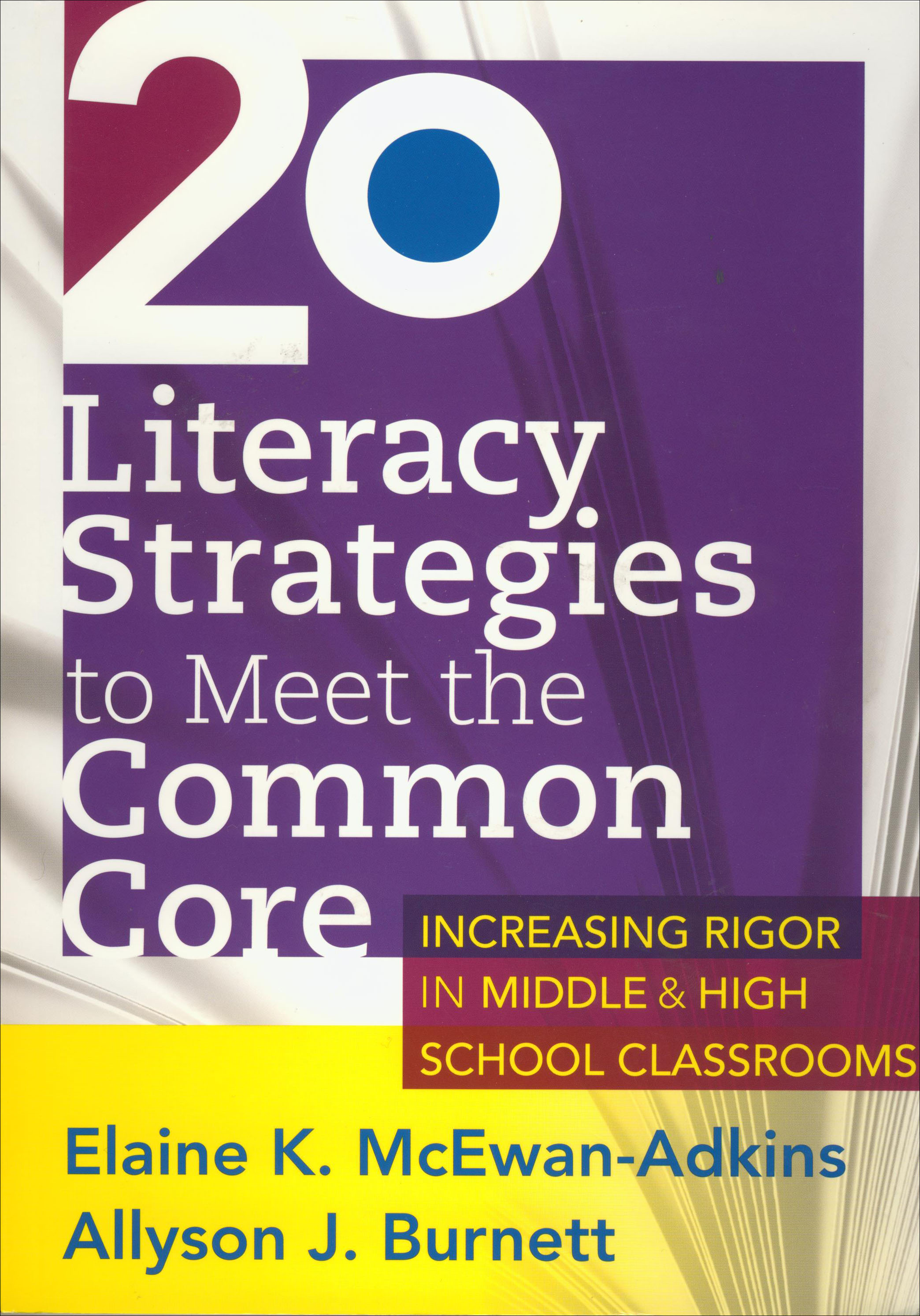 20 Literacy Strategies to Meet the Common Core Book