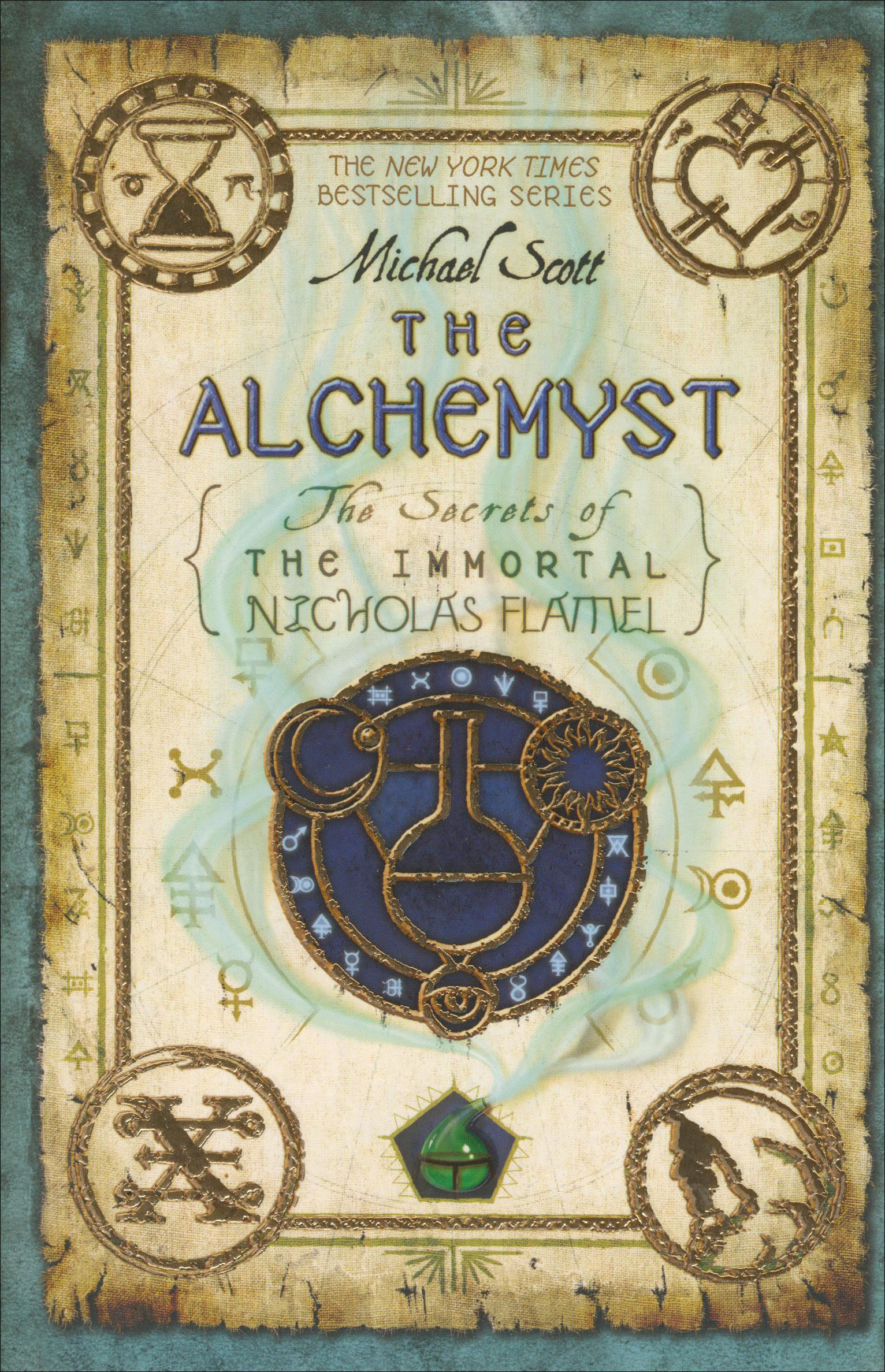 The Alchemyst Paperback Book (890L)