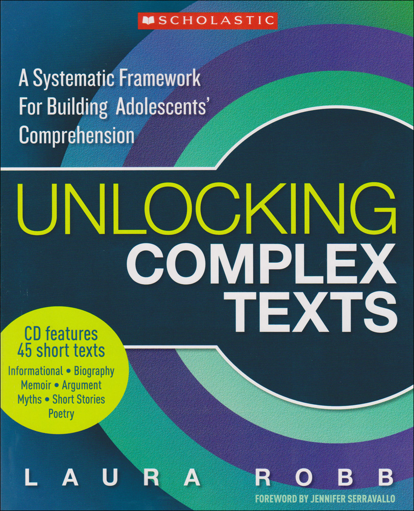Unlocking Complex Texts Book