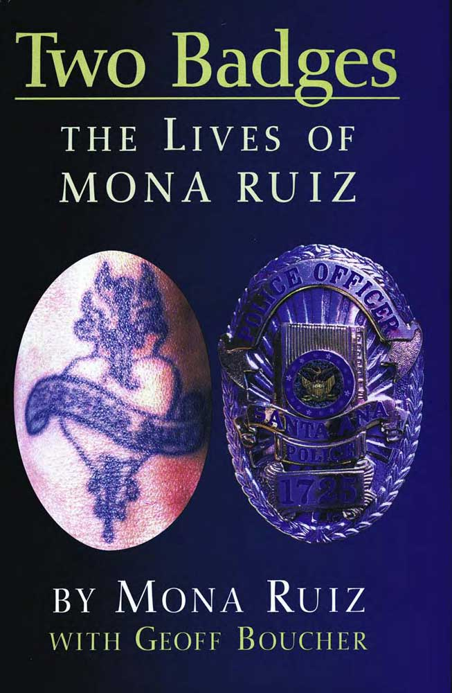 Two Badges: The Life of Mona Ruiz Paperback Book (940L)