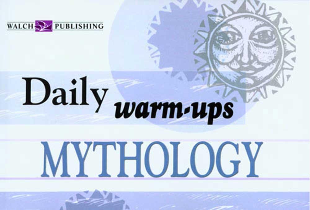 Daily Warm-Ups: Mythology II Activity Book