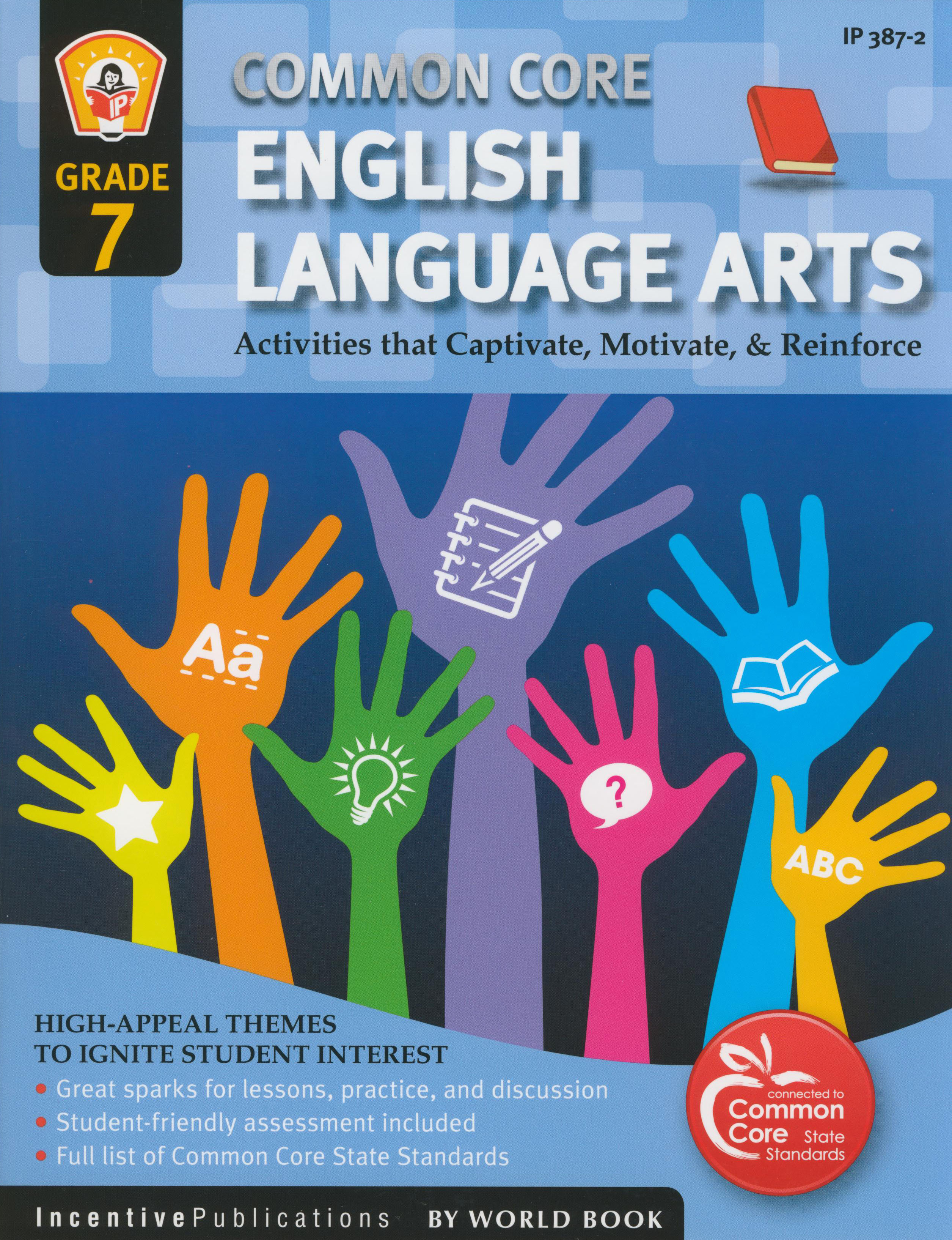 Common Core English Language Arts Activity Book Grade 7