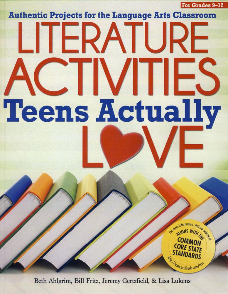 Literature Activities Teens Actually Love Activity Book