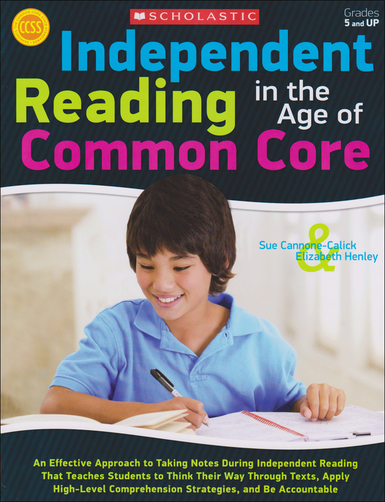 Independent Reading in the Age of Common Core Strategies Book