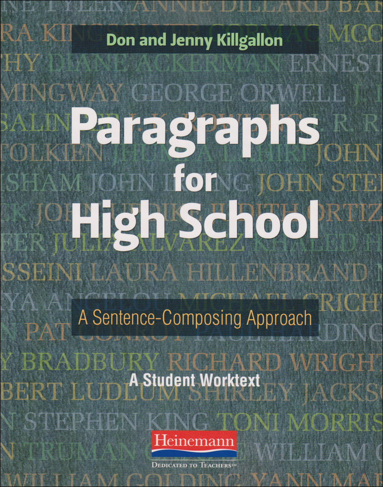 Paragraphs for High School Book
