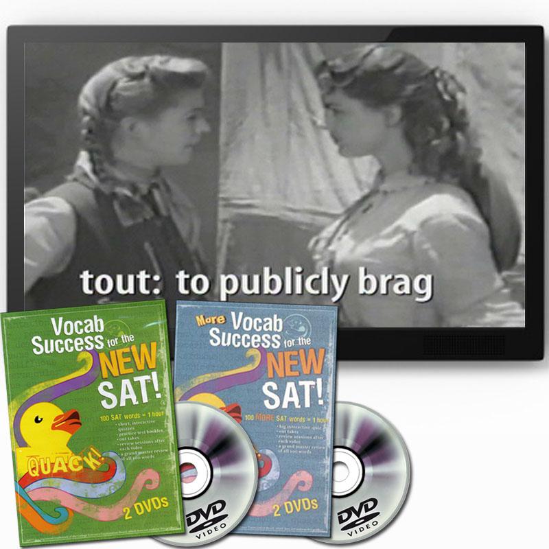 Quack! SAT DVD Set ~ Volumes 1-10