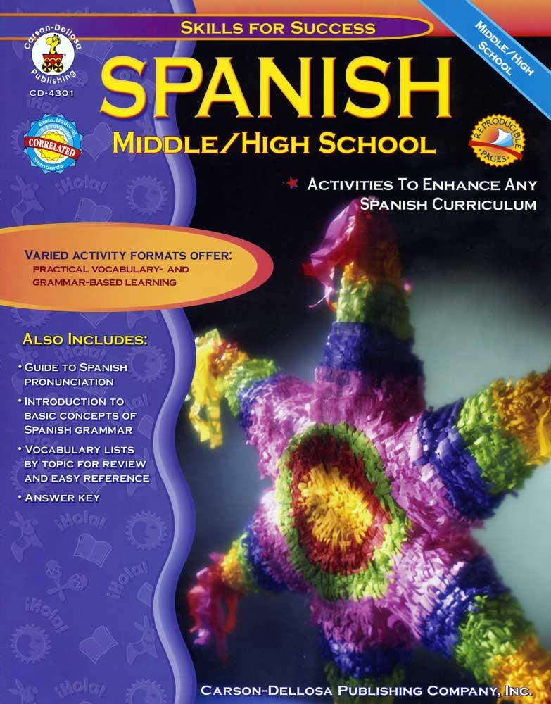 Middle School/High School Spanish Activities Book